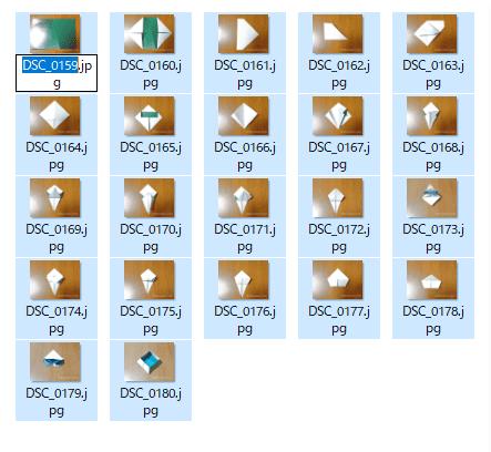 ファイル名一括変更手順3