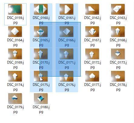 ファイル名一括変更手順6